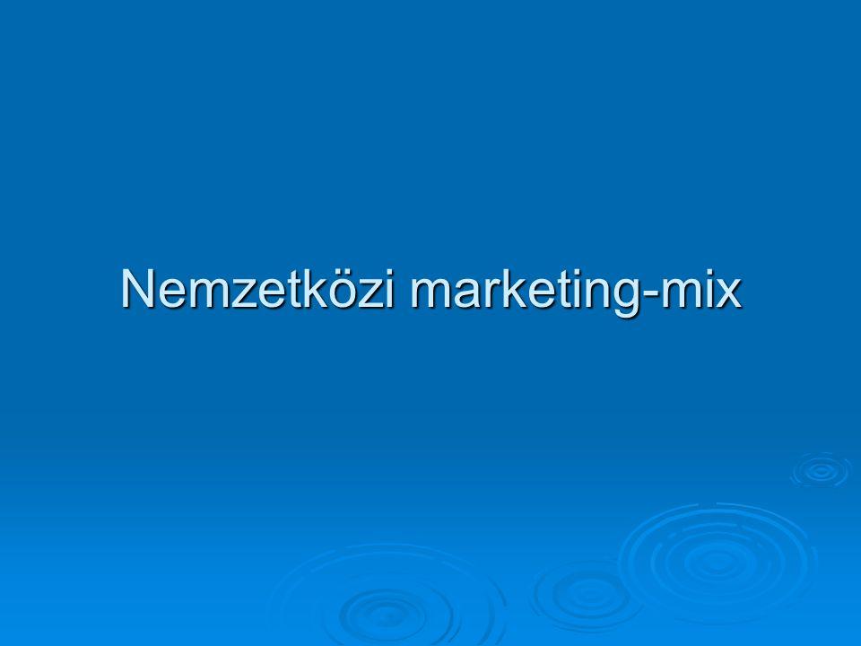 Külpiacra szánt reklámok tervezésekor megválaszolandó kérdések Külpiacra szánt reklám tervezése Média, reklámeszköz használatai szokások Reklámozás tárgya Reklám készítésének elvei Reklámüzenet közvetítői Reklámüzenet Reklámüzenet célcsoportja