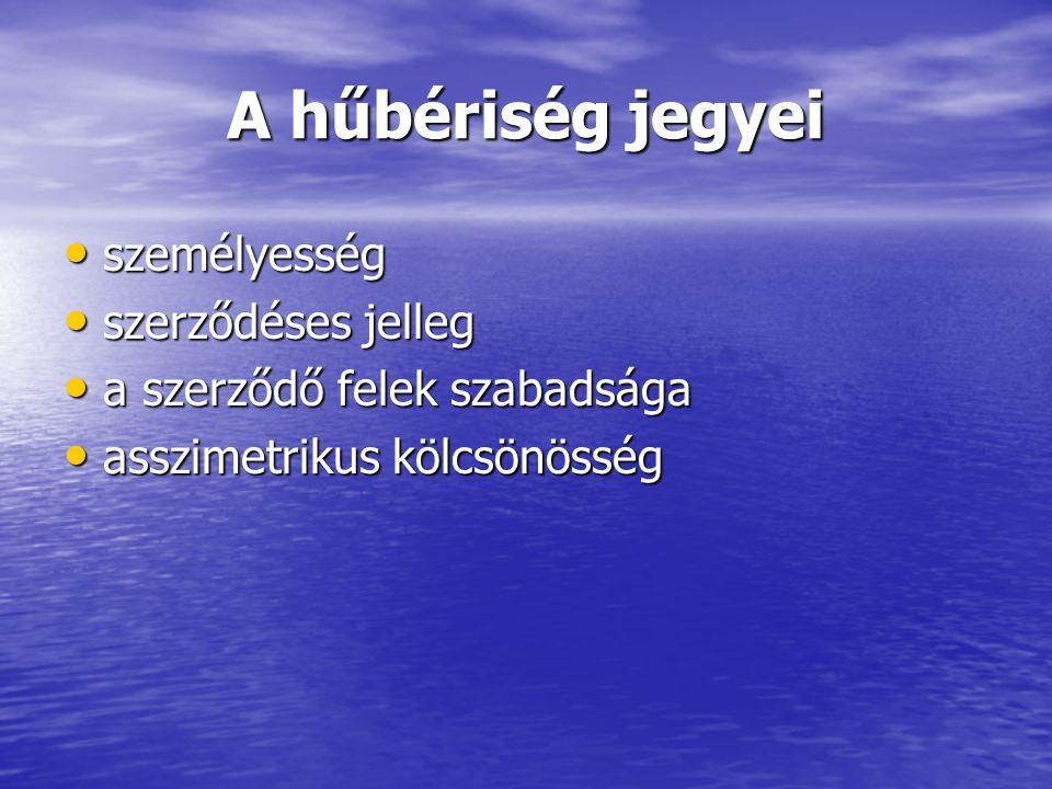 """A hűbériség típusai Láncolatos Láncolatos –hadipajzsrendszer (német) 7 fokozat 7 fokozat Leihezwang Leihezwang hűbér csak """"felülről fogadható el hűbér csak """"felülről fogadható el centrális centrális –Anglia (a normann hódítástól) –Magyarország"""