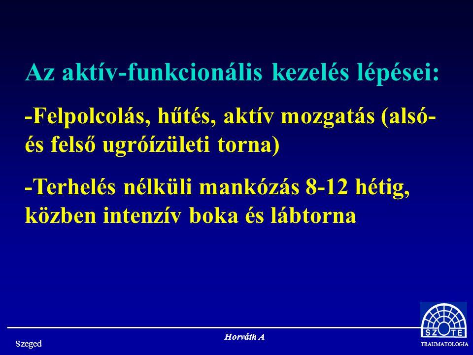 TRAUMATOLÓGIA Szeged Horváth A A calcaneus töréseinek műtétei: -Feltárásos műtétek -Percutan műtétek