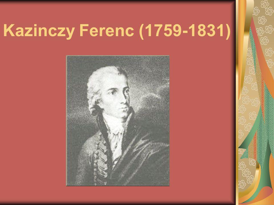 Élete Érsemlyénben született 1759.október 17-én. Apja Kazinczy József, anyja Bossányi Zsuzsanna.