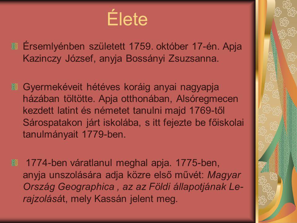 1794 decemberében letartóztatták, s pallos általi halálra és jószágvesztésre ítélték.