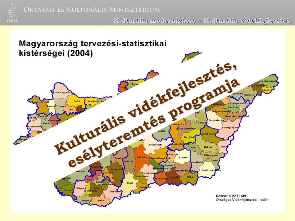 Kulturális vidékfejlesztés, esélyteremtés programja