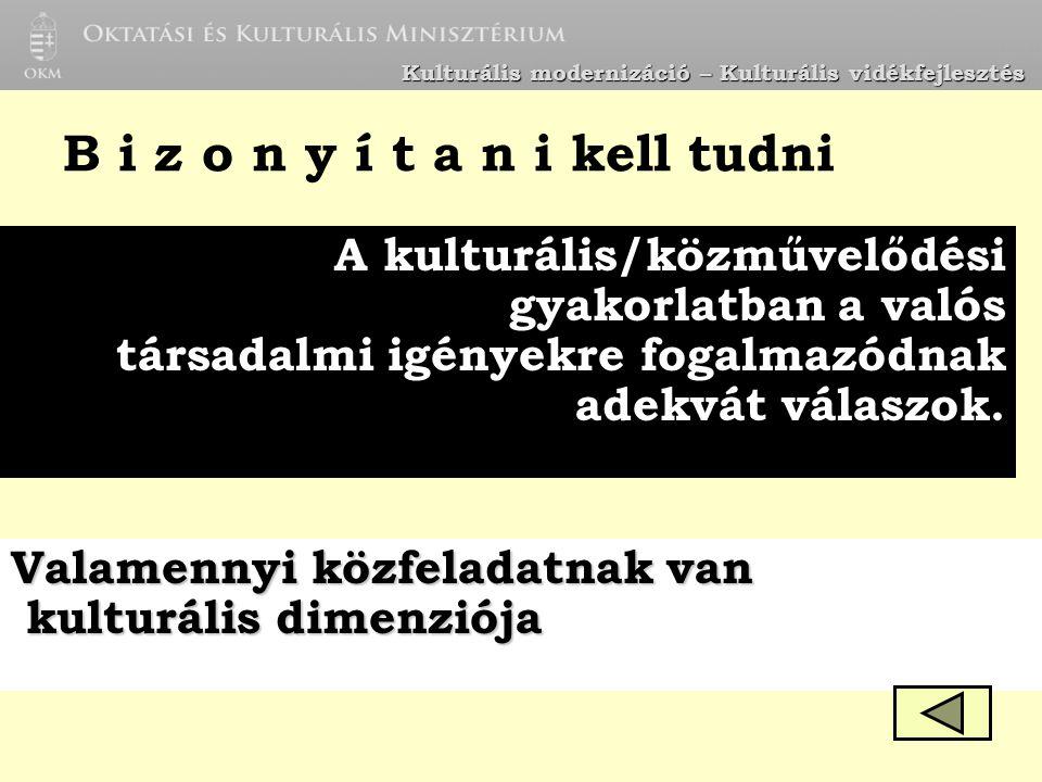 R.Kulturális Iroda R. közművelődési szakfelügyelet 1.