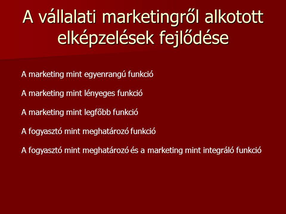 Piaci szereplők és marketing Piaci szereplő: aki termeléssel vagy fogyasztással közvetlenül befolyásolja a piaci folyamatokat. Marketing: a piacokkal