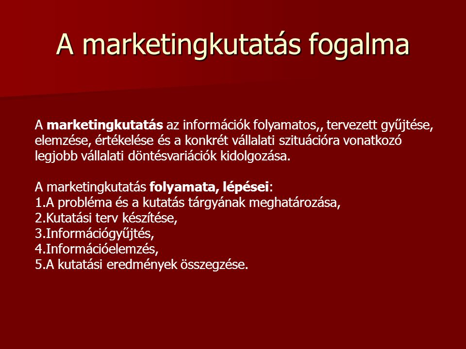 Marketingkutatás