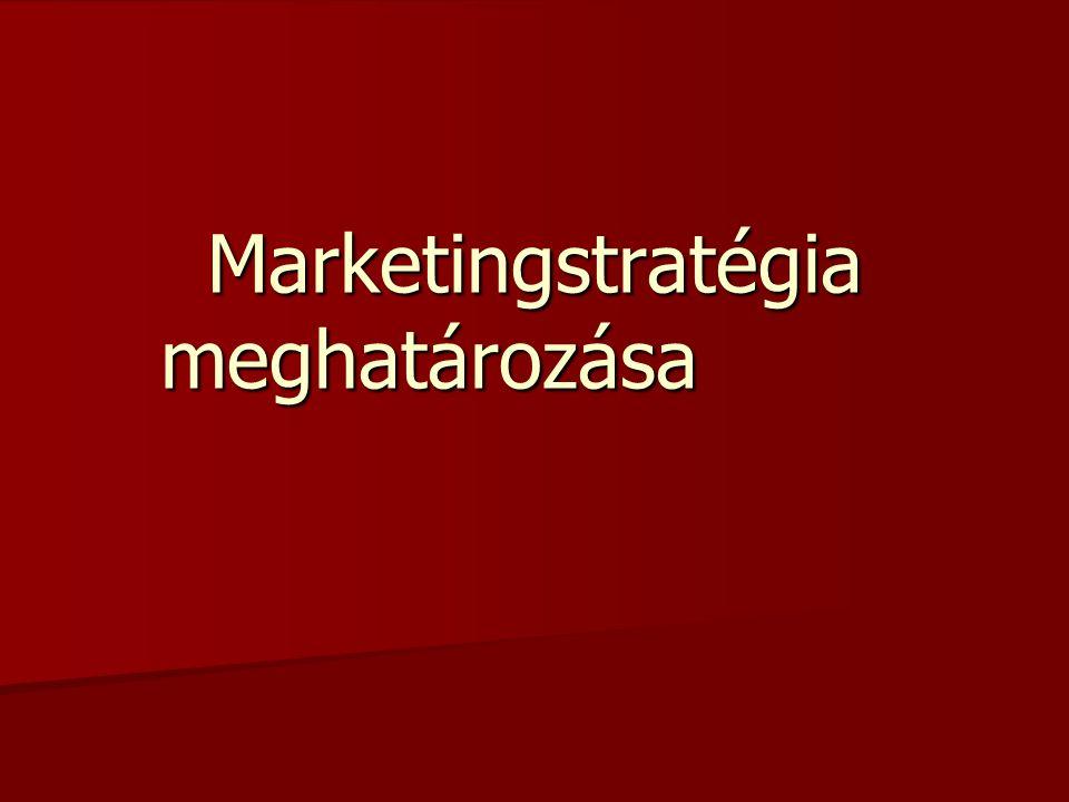 A Magyar Turizmus Rt. marketingcéljai Vízió Vízió Misszió Misszió Éves operatív marketingcélok Éves operatív marketingcélok