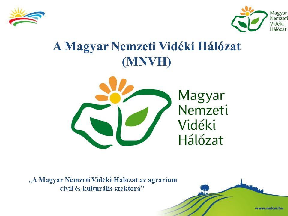 """A Magyar Nemzeti Vidéki Hálózat (MNVH) """"A Magyar Nemzeti Vidéki Hálózat az agrárium civil és kulturális szektora"""""""