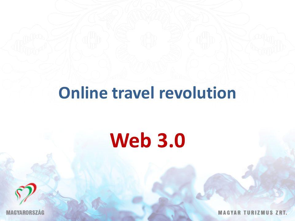 Online travel revolution Web 3.0