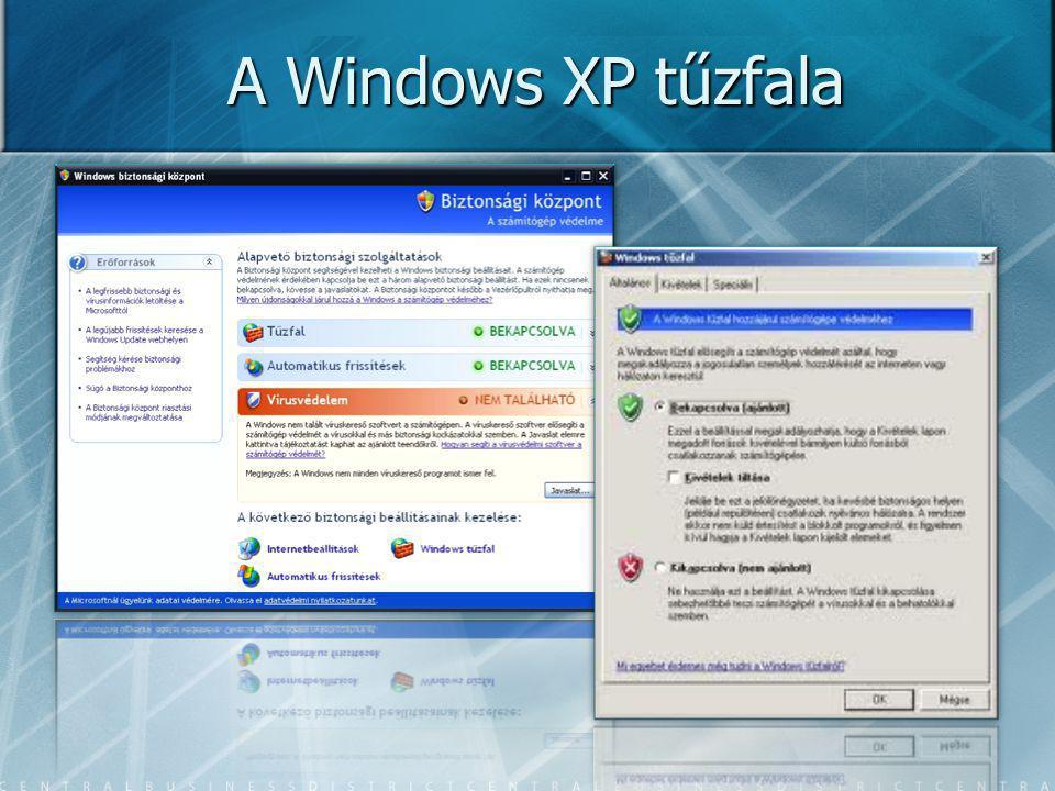 A Windows XP tűzfala