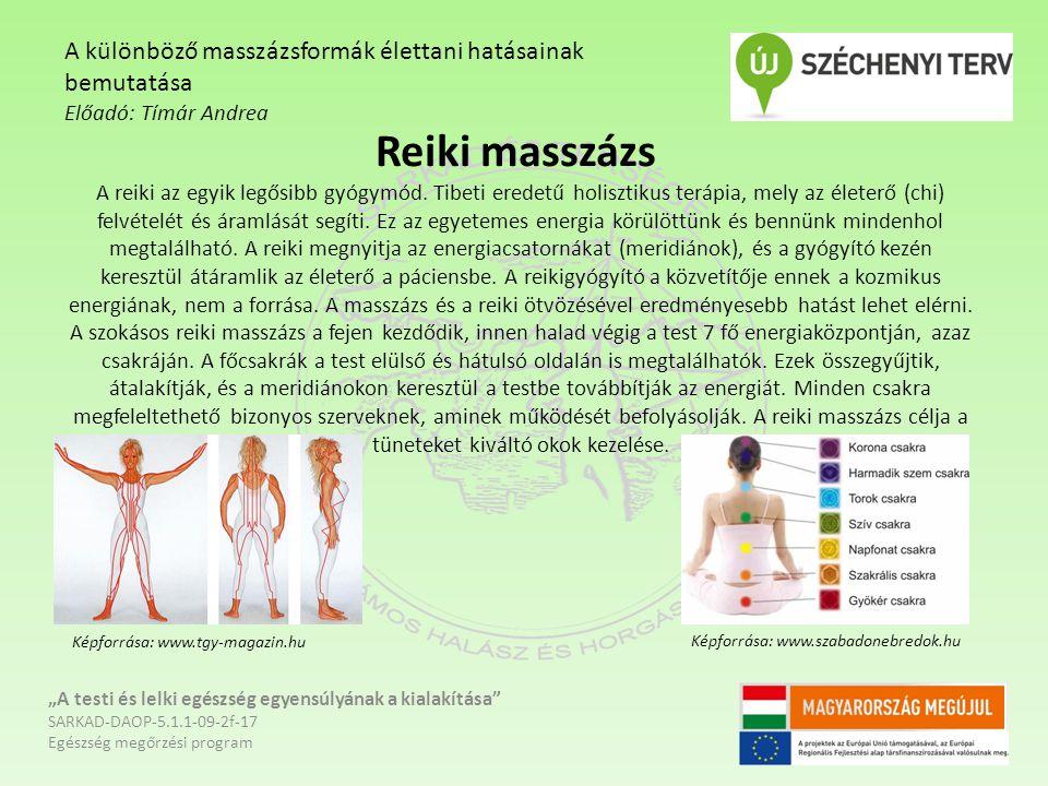 Reiki masszázs A reiki az egyik legősibb gyógymód. Tibeti eredetű holisztikus terápia, mely az életerő (chi) felvételét és áramlását segíti. Ez az egy