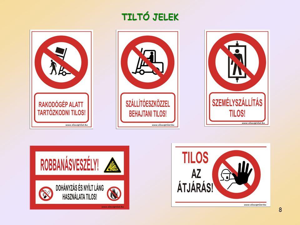 9 Utánvilágító Vízzel locsolni tilos piktogram
