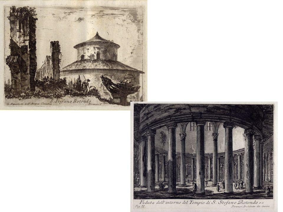 Róma nevezetes hét dombja közül a Celio vállán emelkedik a Santo Stefano Rotondo, amely a legtöbb magyar emléket őrzi.