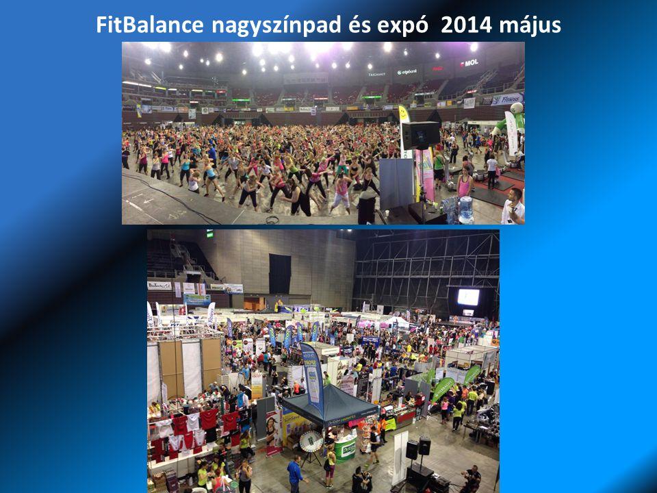 FitBalance nagyszínpad és expó 2014 május