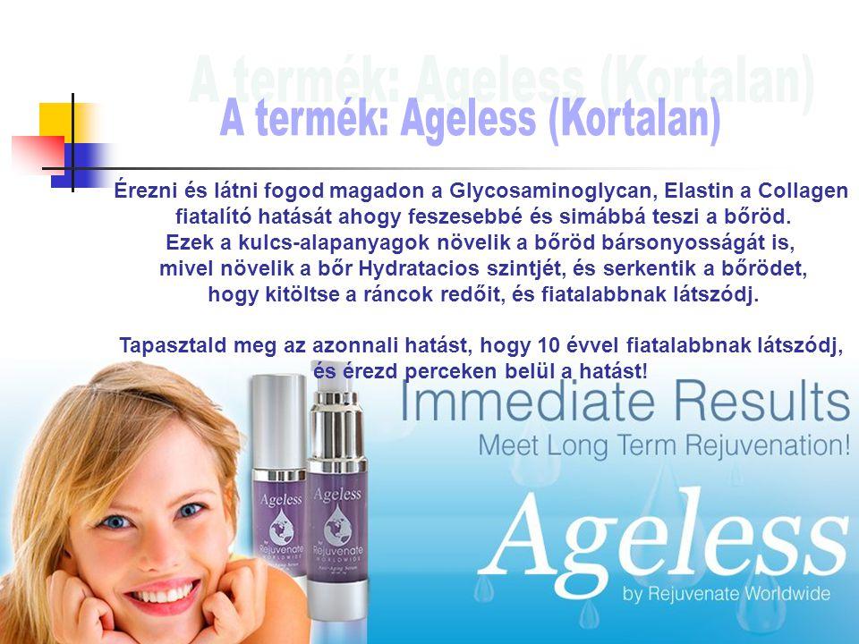 Érezni és látni fogod magadon a Glycosaminoglycan, Elastin a Collagen fiatalító hatását ahogy feszesebbé és simábbá teszi a bőröd.