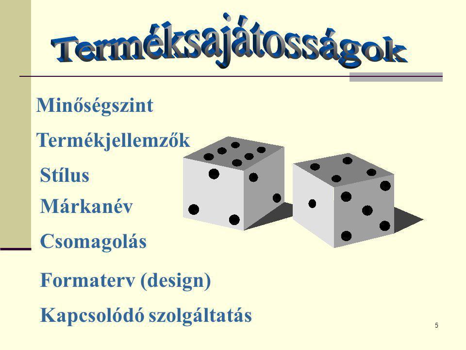 6 egy név,kifejezés,jel,szimbólum,design v.ezek kombinációja.Célja,hogy adott termelő v.