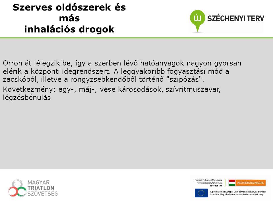 Orron át lélegzik be, így a szerben lévő hatóanyagok nagyon gyorsan elérik a központi idegrendszert. A leggyakoribb fogyasztási mód a zacskóból, illet