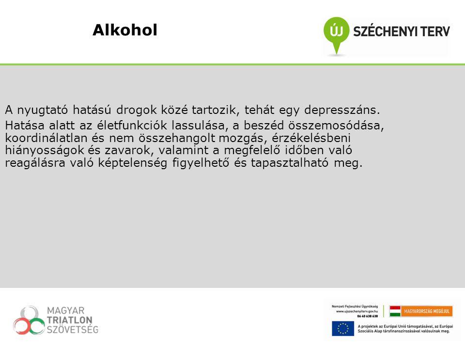 A nyugtató hatású drogok közé tartozik, tehát egy depresszáns. Hatása alatt az életfunkciók lassulása, a beszéd összemosódása, koordinálatlan és nem ö