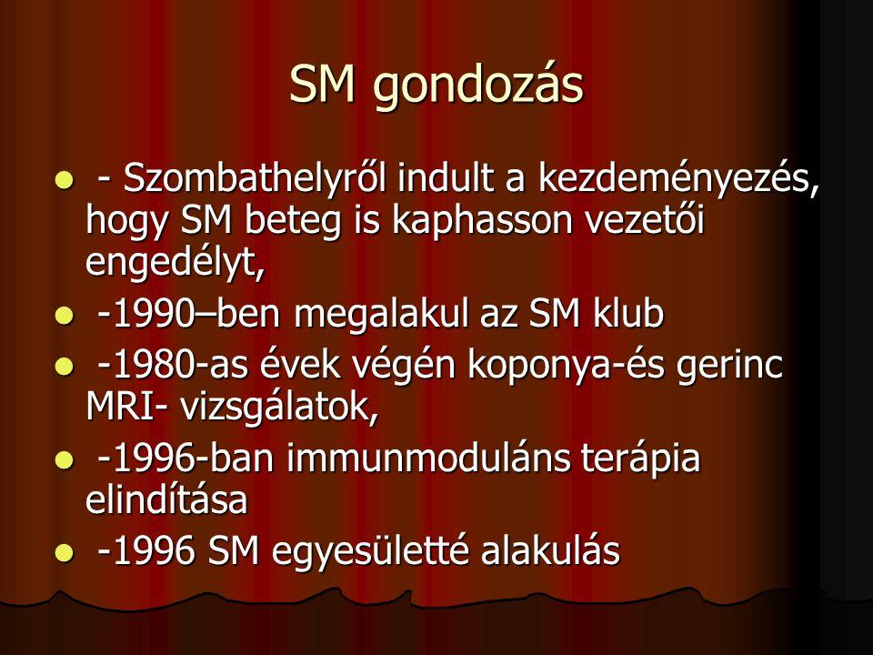 SM gondozás - Szombathelyről indult a kezdeményezés, hogy SM beteg is kaphasson vezetői engedélyt, - Szombathelyről indult a kezdeményezés, hogy SM be