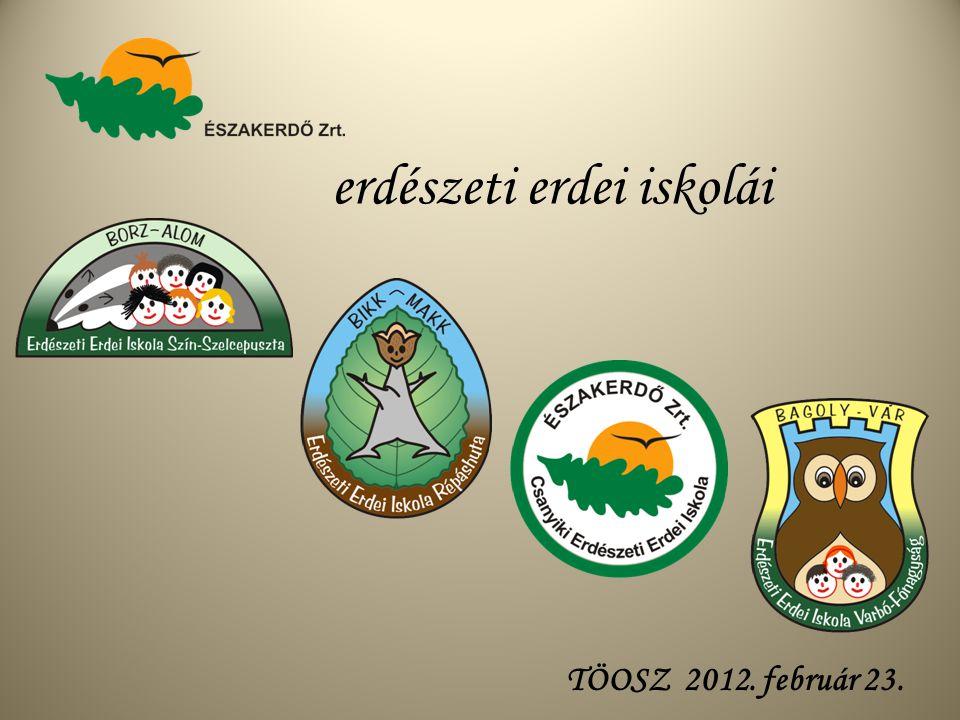erdészeti erdei iskolái TÖOSZ 2012. február 23.