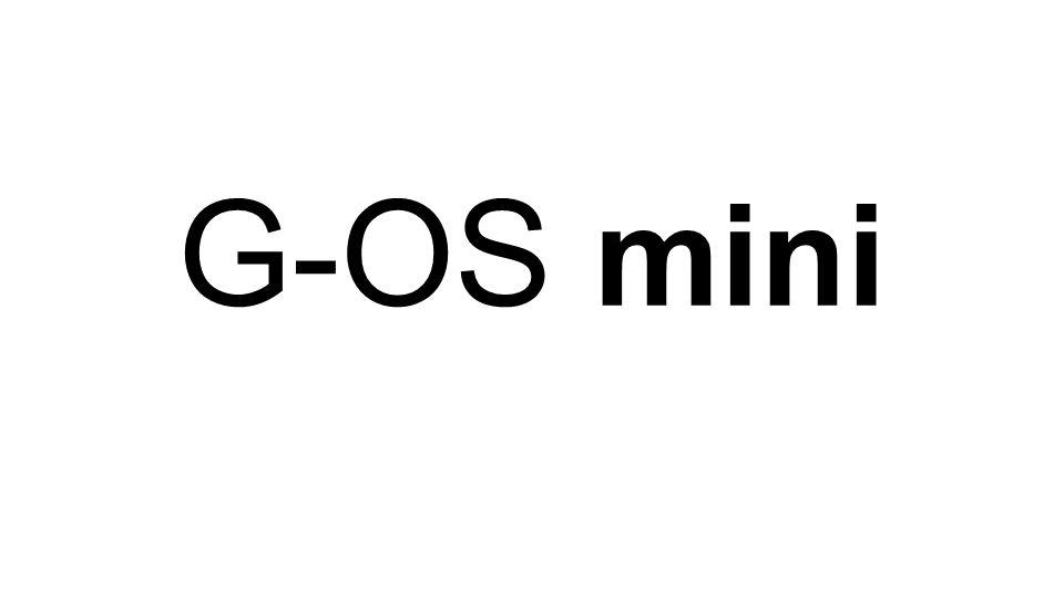 G-OS mini