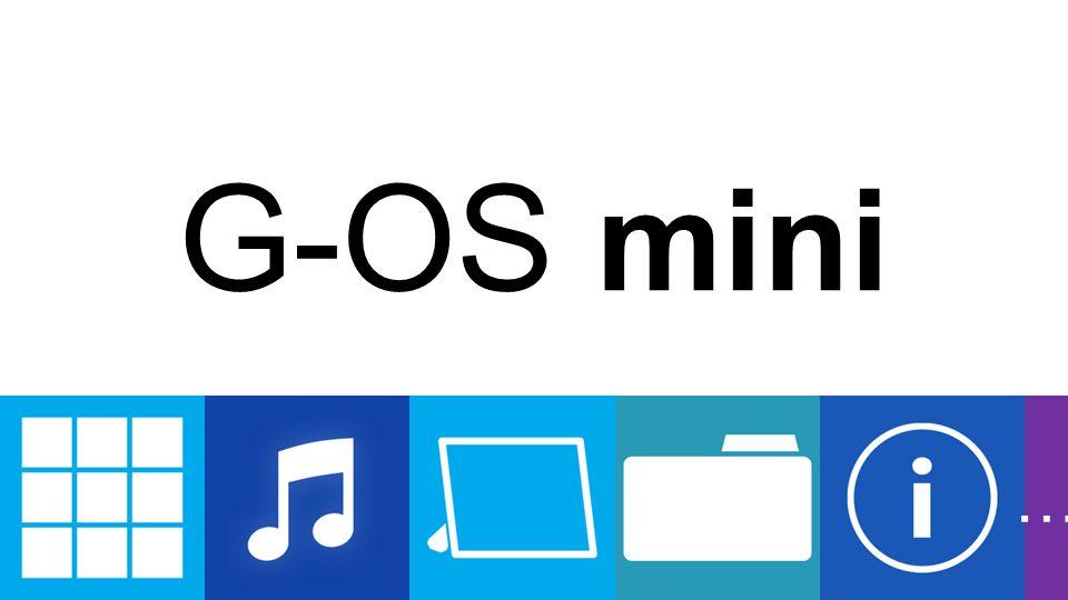 G-OS mini …
