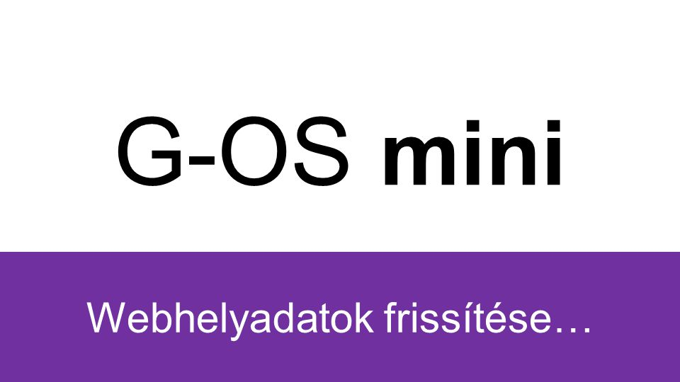 G-OS mini SteamG-TUNESFacebookGMAILFirefoxChrome