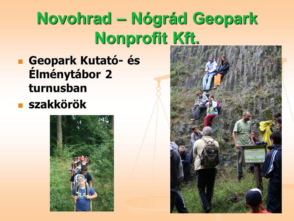 Novohrad – Nógrád Geopark Nonprofit Kft.