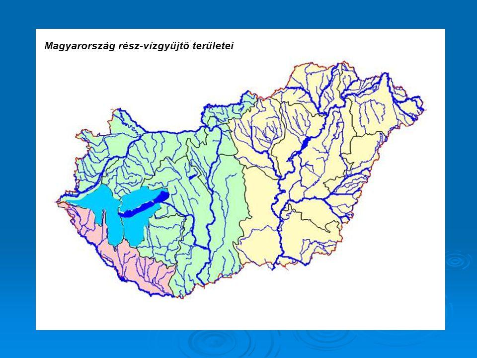 Magyarország rész-vízgyűjtő területei