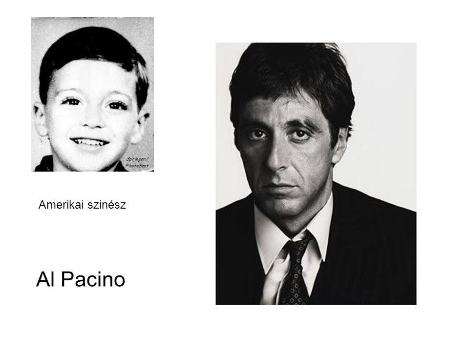 Al Pacino Amerikai szinész