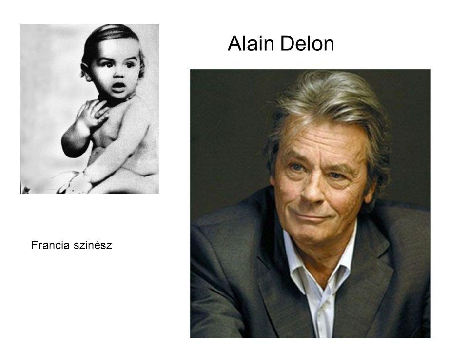 Alain Delon Francia szinész