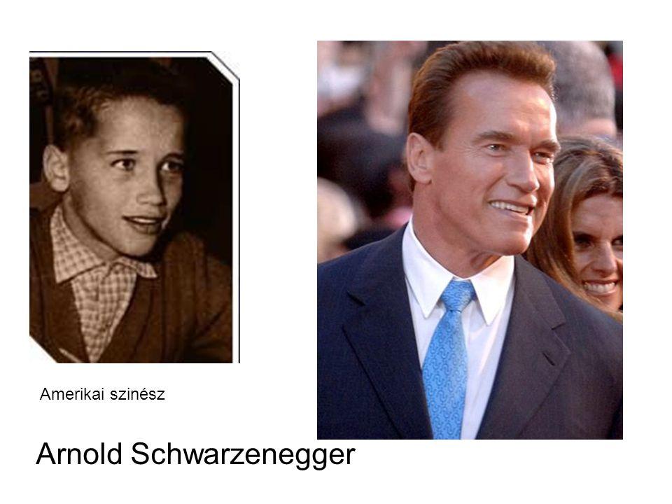 Arnold Schwarzenegger Amerikai szinész