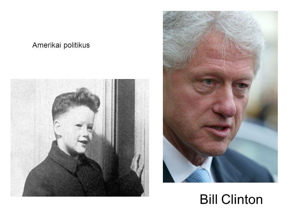 Bill Clinton Amerikai politikus
