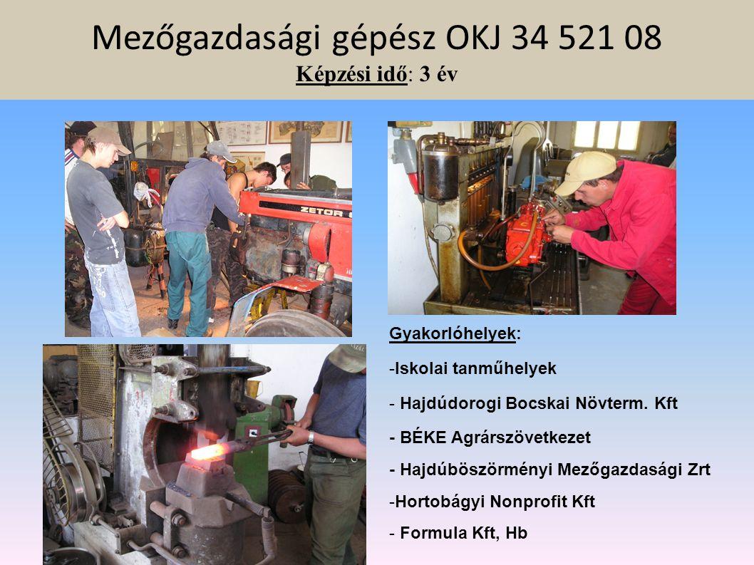 Húsipari termékgyártó OKJ 34 541 03 Képzés idő: 3 év Gyakorlati képző helyek: Gasztro-hús Kft. Mg-i Zrt, Hb, sertés vágóhíd IMKI-FOOD Kft. Biharnagyba