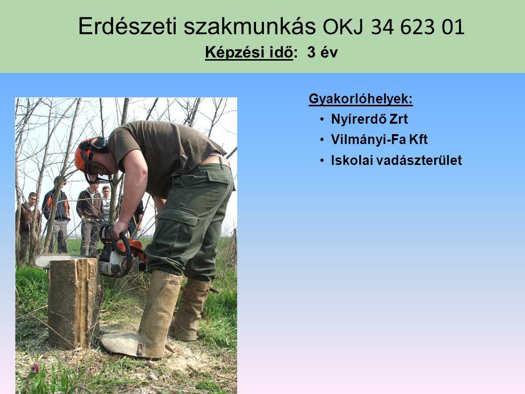 Kertész OKJ 34 622 02 Képzési idő: 3 év Gyakorlati képző hely: Az iskola kertészeti gyakorlója