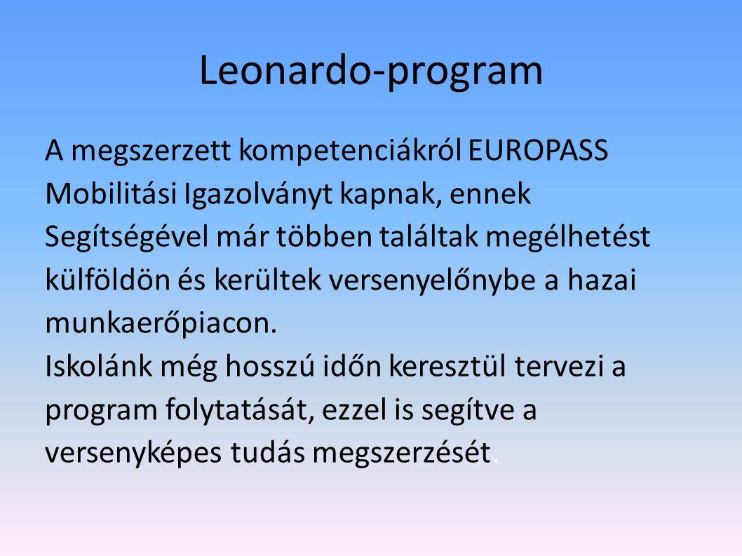 Leonardo-program Dolgozhatnak a Rostock környéki farmokon, erdőgazdaságban és családi vállalkozásoknál. A kint töltött 4-8 hét alatt munka közben tanu