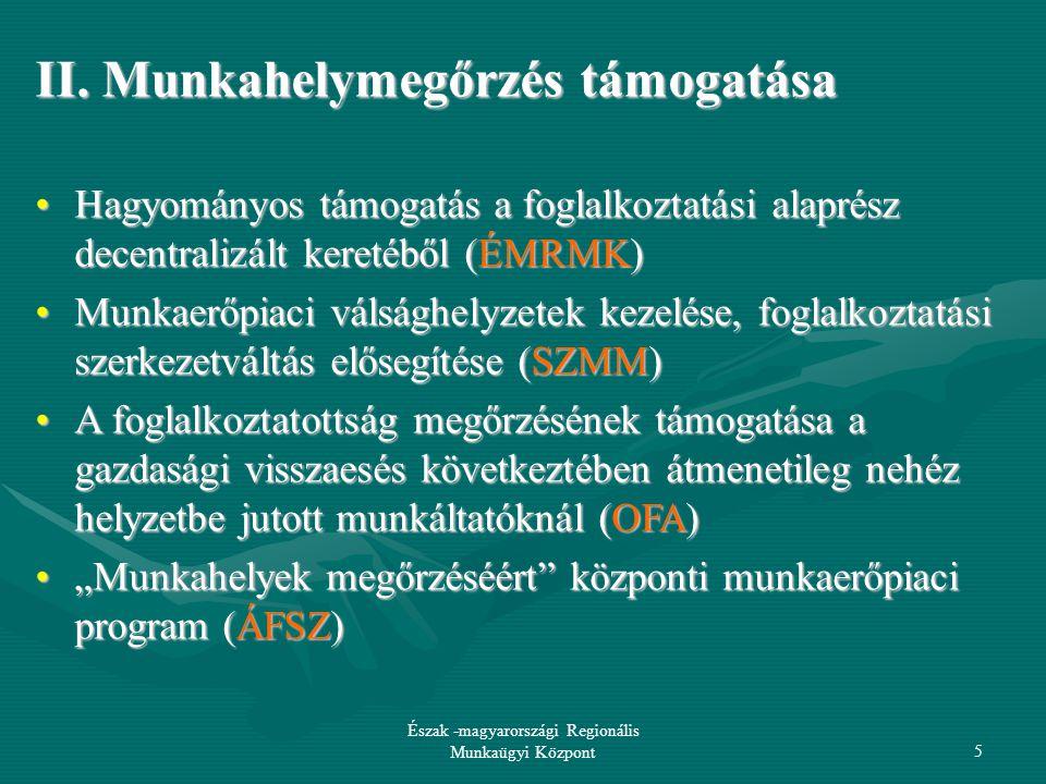 09-12-16 Észak -magyarországi Regionális Munkaügyi Központ16 III/1.