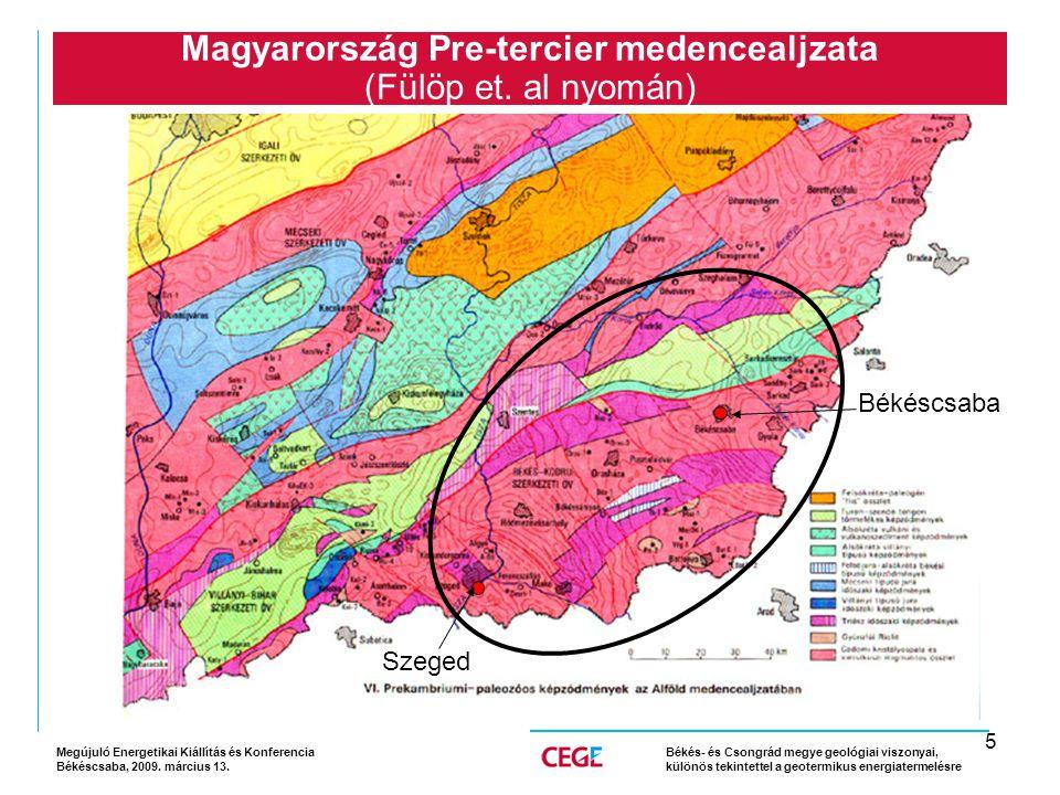 5 Magyarország Pre-tercier medencealjzata (Fülöp et.