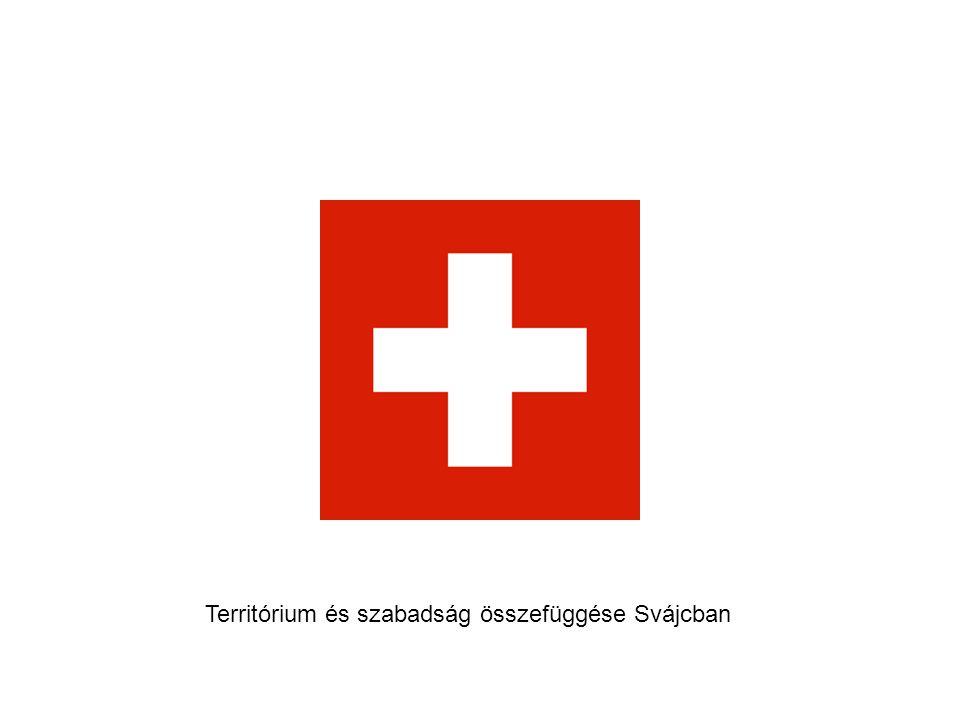 Territórium és szabadság összefüggése Svájcban