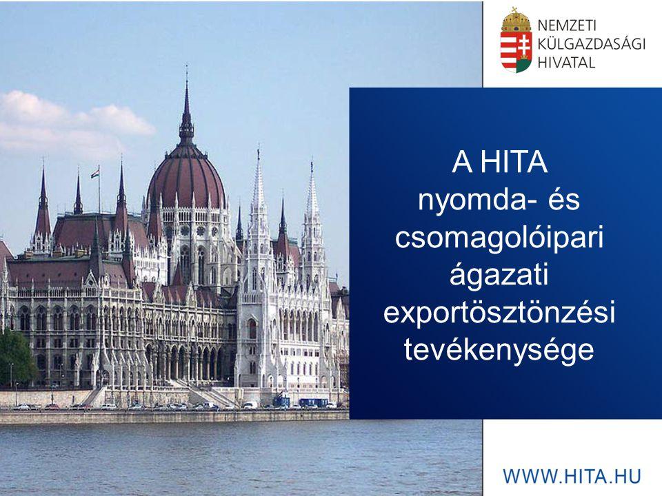 A HITA nyomda- és csomagolóipari ágazati exportösztönzési tevékenysége
