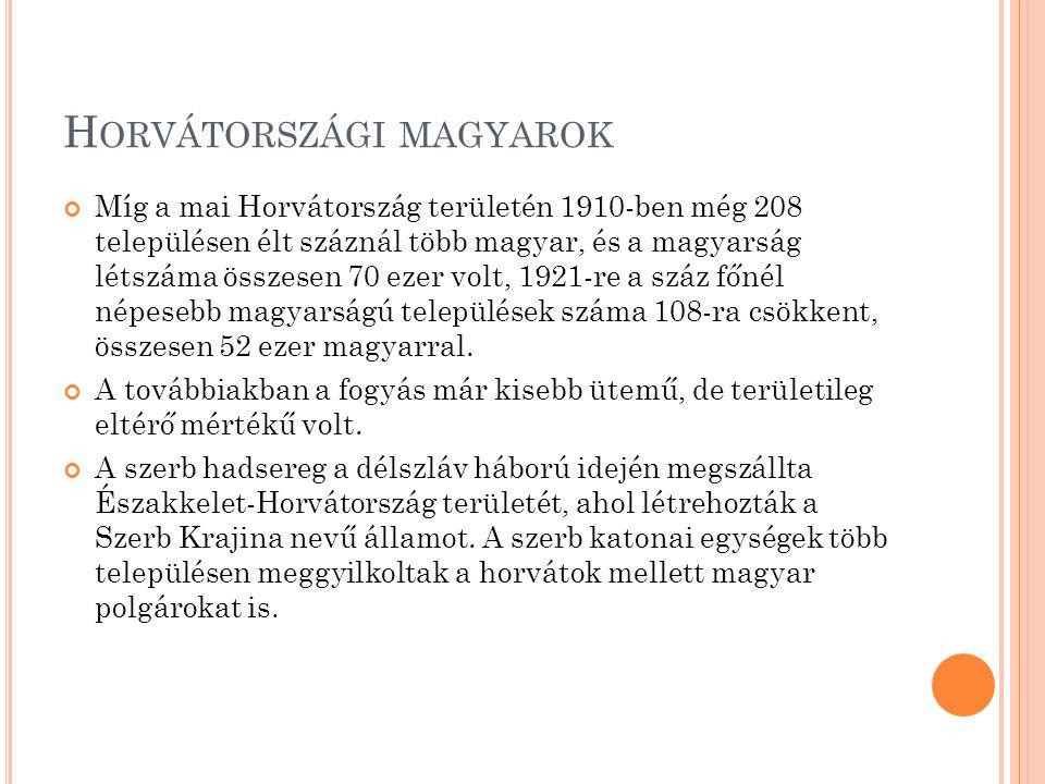 S ZLOVÉNIAI MAGYAROK A szlovéniai magyarok vagy muravidéki magyarok az egyikét alkotják azon kényszerkisebbségeknek, amelyek a trianoni békeszerződés következtében alakultak ki.