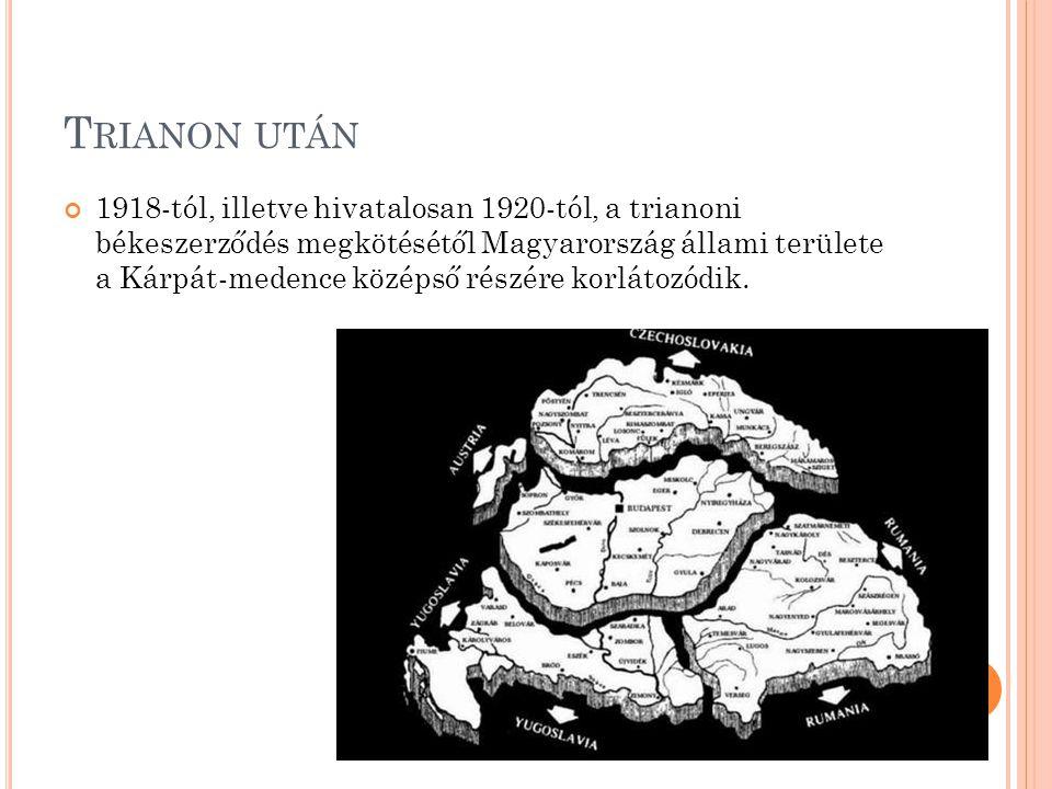R OMÁNIAI MAGYAROK Az 1918-as gyulafehérvári nagygyűlés kimondta Erdély egyesülését a Román Királysággal Az 1920-as trianoni béke kimondta, hogy ahol a magyarság aránya nagyobb mint 20%, ott az államnak etnikai autonómiát kell biztosítania A II.
