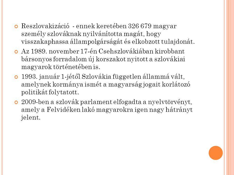 K ÁRPÁTALJAI MAGYAROK Kárpátalja geopolitikai értelemben véve a Felvidék folytatása Az elszakított területek közül Kárpátalja a következő államok kötelékébe tartozott:  1920-ig Magyarország  1920-1938/39 Csehszlovákia (Podkarpatszká Rusz)  1938/39-1944 Magyarország  1944-1945 Csehszlovákia része szovjet megszállás alatt  1945-1991 Szovjetunió (1945-1946 Kárpátontúli Ukrajna, 1946-1991 Ukrán SZSZK)  1991-től Ukrajna része.