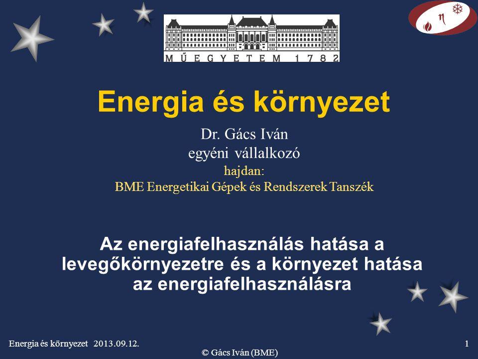 Energia és környezet 2013.09.12.