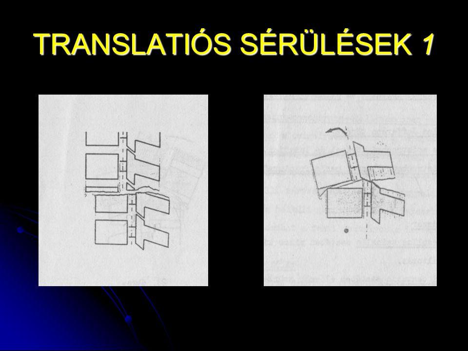 TRANSLATIÓS SÉRÜLÉSEK 1