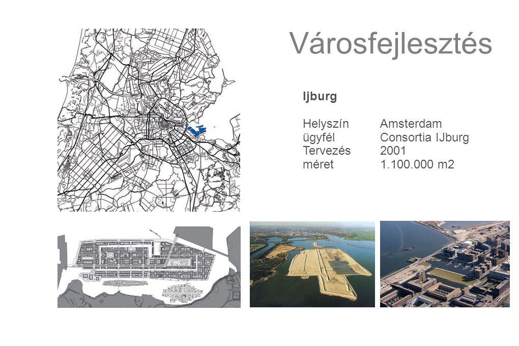 Városfejlesztés Ijburg HelyszínAmsterdam ügyfélConsortia IJburg Tervezés2001 méret1.100.000 m2
