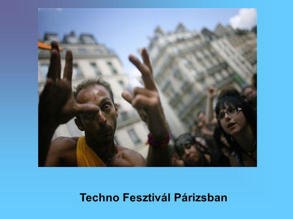 Techno Fesztivál Párizsban