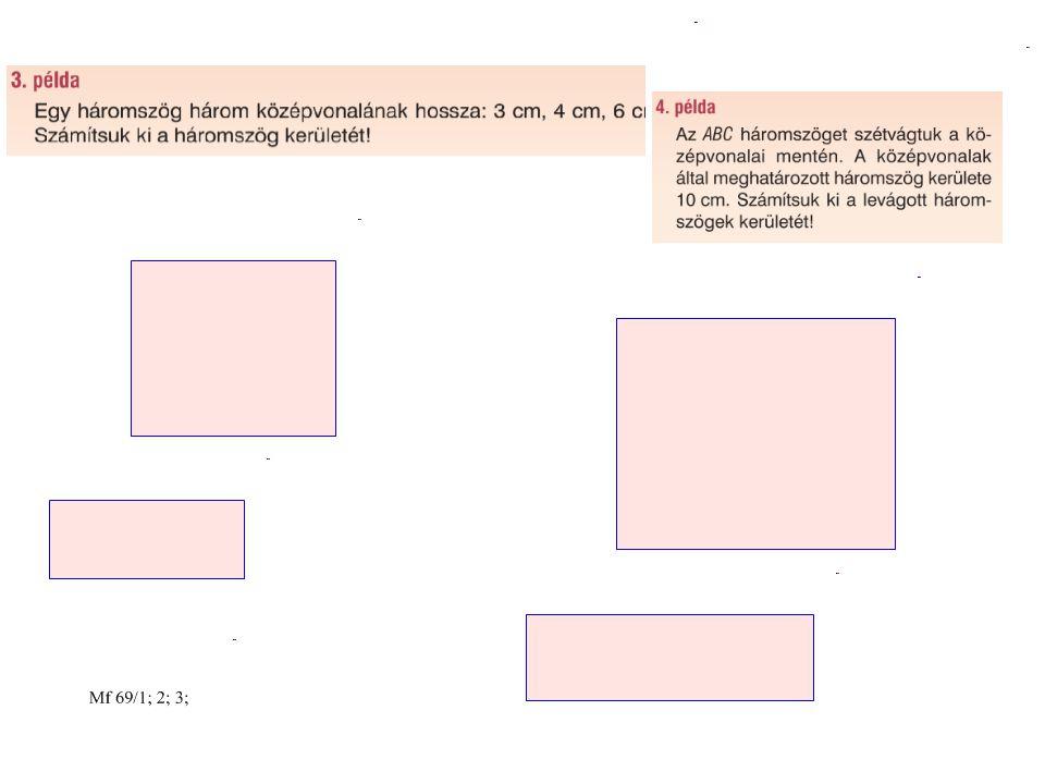 Négyszögek tulajdonságai A következő kérdéseket a diákkvartett módszerével dolgozzuk fel 1.