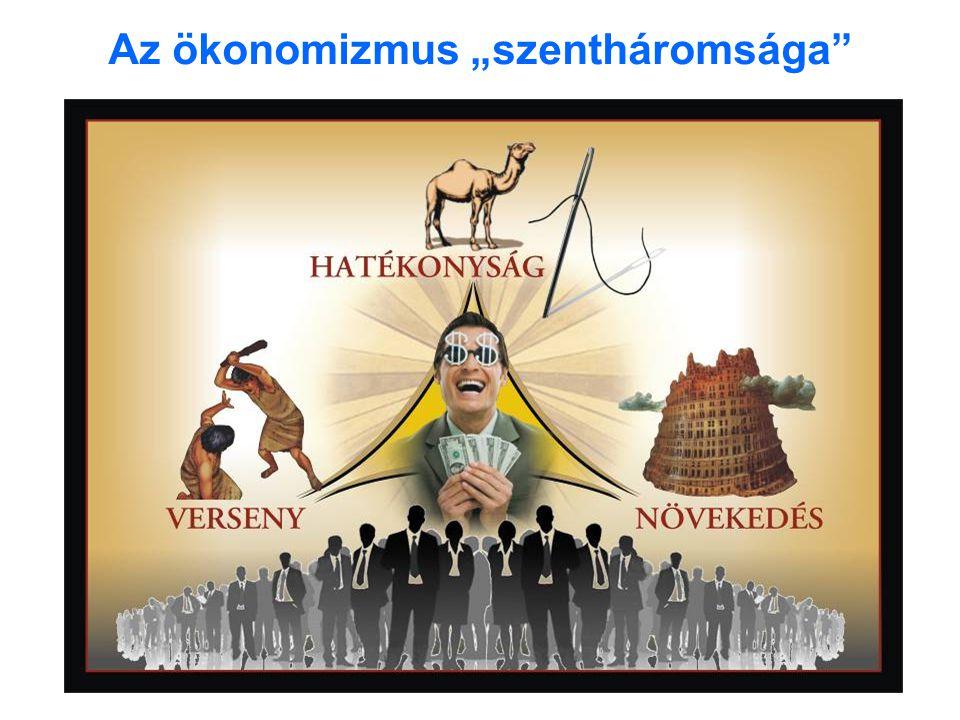 """A haszonökonómia """"tízparancsolata 1.parancs: Az ember önző Az ember haszonmaximalizáló, önérdekkövető lény, viselkedj hát te is így, s mások ilyen motívumaira építsd viselkedésed."""