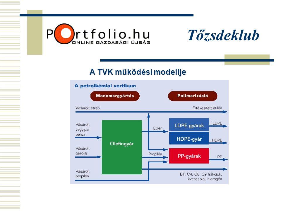 Tőzsdeklub A TVK működési modellje