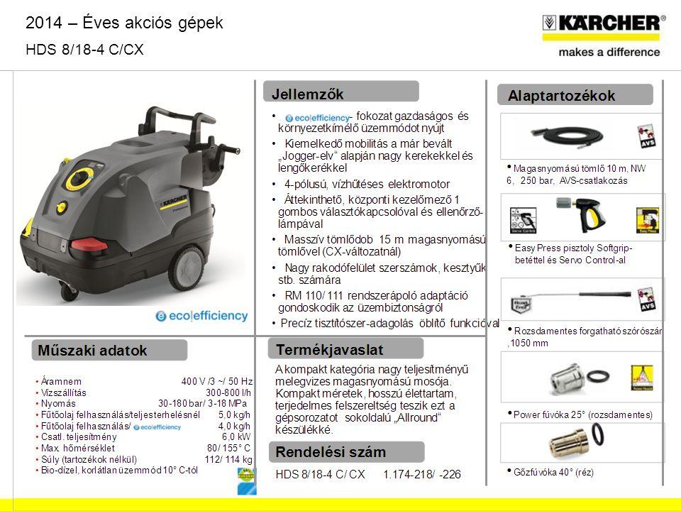 Műszaki adatok Áramnem 230 V /1 ~/ 50 Hz Vízszállítás 450 l/h Nyomás 110 bar / 11 MPa Fűtőolaj felhasználás 2,7 kg/h Csatl.